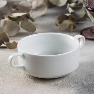 Чашка бульонная Башкирский фарфор Практик «Бельё», 320 мл