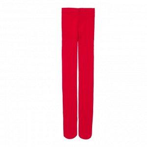Красный Красные полиамидные колготки artie в рубчик Тонкий эластичный материал на основе полиамида Плотность - 50 ден Страна производства Армения