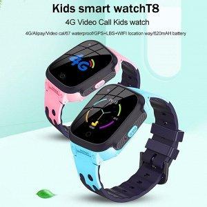 60130 Детские часы с GPS-модулем Smart Watch T8