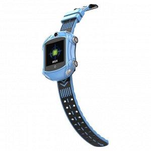 """90063 Детские часы с GPS-модулем, 4G """"Авто"""" DF-53"""
