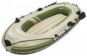 """Надувная лодка """"Voyager 300"""" 243х102см, вёсла 62064, до 170кг"""