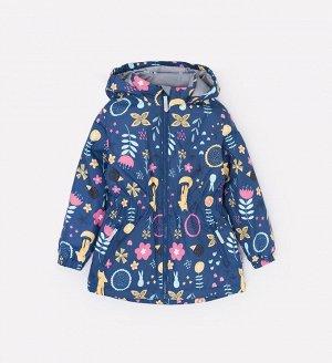 Куртка демисезонная утепленная для девочки Crockid ВК 32096/н/3 УЗГ