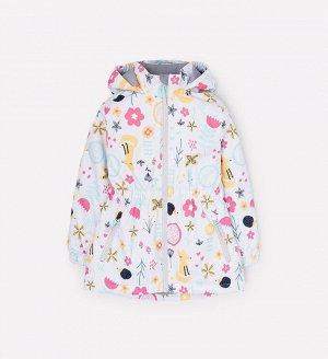 Куртка демисезонная утепленная для девочки Crockid ВК 32096/н/4 УЗГ