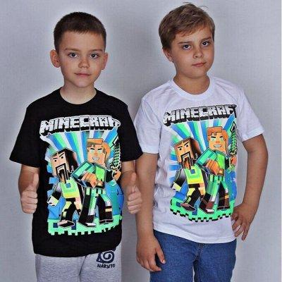 Светящиеся футболки Brawl, Among. Аксессуары — Футболки Minecraft. НОВИНКА