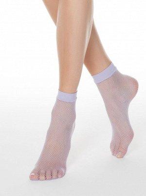 Носки женские в сеточку