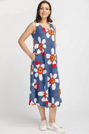 Платье  (46-58 р)