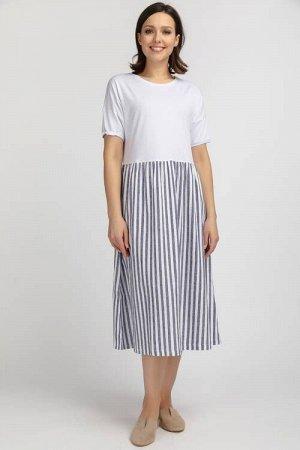 N083-1 Платье  (46-58 р)
