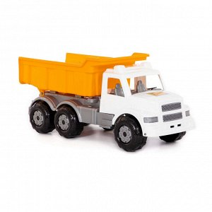 Автомобиль дорожный (бело-оранжевый) Буран