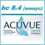 Двухнедельные контактные линзы ACUVUE® OASYS with TRANSITIONS (6линз)