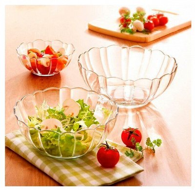 *Большая распродажа любимой посуды* — Салатники, блюда и посуда для СВЧ стеклянная