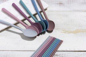 Силиконовые палочки для еды KF Pastel