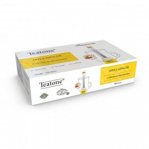 Яблоко-Имбирь TEATONE (100 стиков * 1,8г)