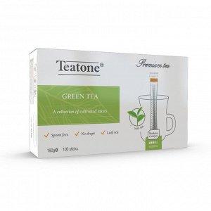 Зеленый чай TEATONE (100 стиков * 1,8г)