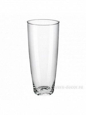 Ваза стекло Нина D12/8 х H 29 см