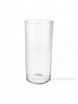 Ваза Трубка 107 D10.7 х Н 25 см стекло
