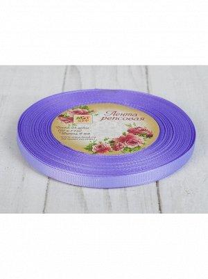 Лента репсовая 0,6 см х 25 ярд сиреневый