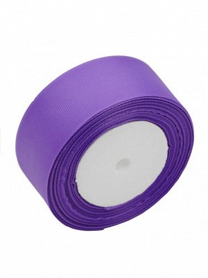 Лента репсовая 3,8 см х 23 м цвет лиловый
