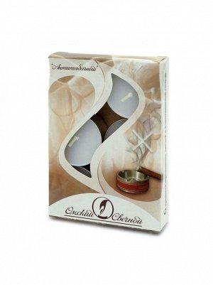 Свеча чайная 12 гр х 6 шт Антитабачный  ароматизированная