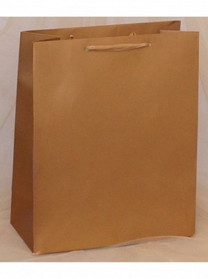 Пакет ламинированный однотонный 26 х 32 х 12 см
