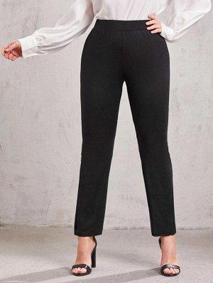 Расклешенные брюки размера плюс
