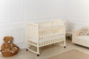 Кроватка Incanto Pali, колесо-качалка, цвет слоновая кость