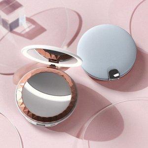 Зеркало для макияжа Xiaomi HuiZuo Portable Beauty Mirror