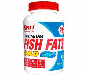 Омега 3 (Рыбий жир) SAN Premium Fish Fats Gold - 60 капсул