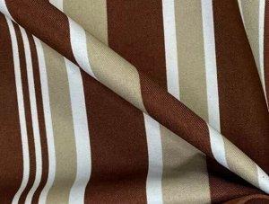 Ткань Universal полоса Коричневая