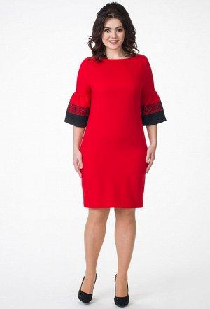 Платье Melissena 855 красный
