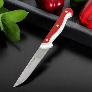 Нож кухонный «Волна», лезвие 10 см, цвет МИКС 944312