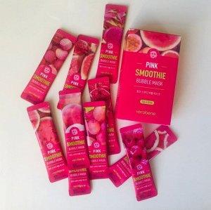 Кислородная маска смузи c розовыми фруктами Verobene