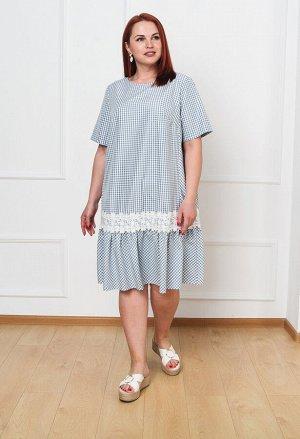 Платье 0091-9 серый