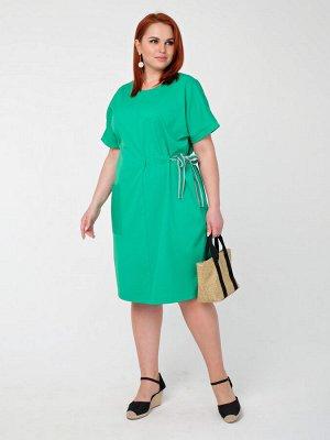 Платье 0090-3 зеленый