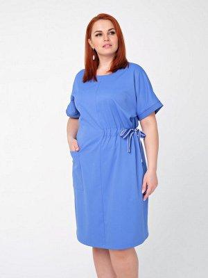 Платье 0090-3 голубой