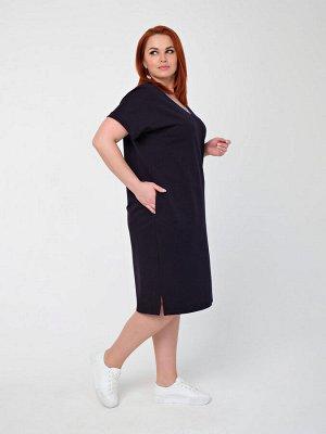 Платье 0141-9 чернильный