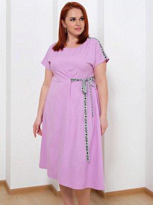 Платье 0083-3 сиреневый