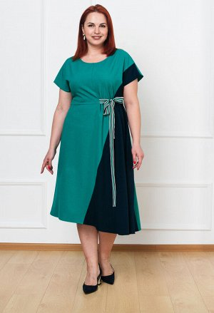 Платье 0083-3 зеленый