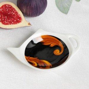 Подставка под чайный пакетик Magistro «Княгиня», 12?8,4?1,5 см