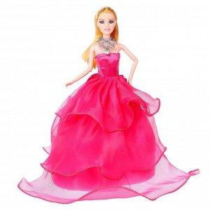 Кукла модель шарнирная «Виктория» в пышном платье, МИКС