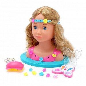 Кукла-манекен для создания причесок «Белла» с аксессуарами, в пакете