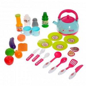 Игровой набор «Кухня хозяйки» с аксессуарами, уценка (помята упаковка)