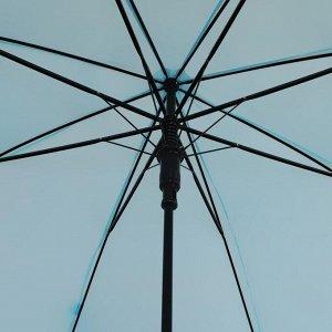 Зонт - трость полуавтоматический «Пастель», 8 спиц, R = 46 см