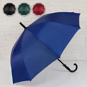 Зонт - трость полуавтоматический «Gordon», 10 спиц, R = 50 см, цвет МИКС