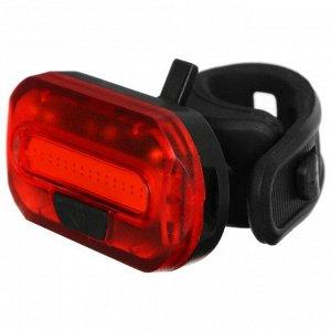 Фонарь велосипедный задний JY-6068T, 15 чипов высокой яркости, красный светодиод