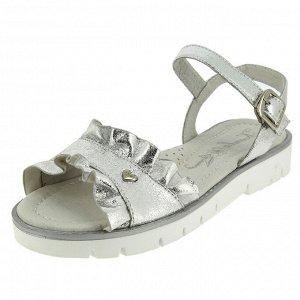 Босоножки для девочки 37 размер серебро