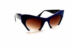 Женские солнцезащитные очки - 100 синий черный