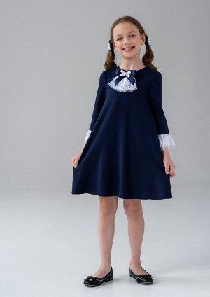 Джеси платье школьное т.синий