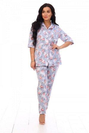 Пижама Ткань: Кулирка; Состав: 100% хлопок. Цветовая гамма изделий может не совпадать с фото!