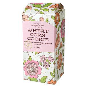 Печенье пп печенье SA пшенично-кукурузное с имбирем 130 г  Пшенично-кукурузное печенье с лёгкой горчинкой имбиря. Вкус и польза в одной упаковке. Состав: мука кукурузная, мука пшеничная, вода родников