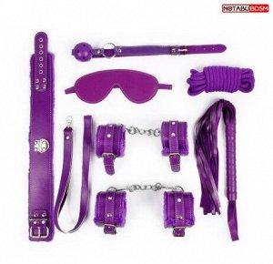 Набор БДСМ, цвет фиолетовый